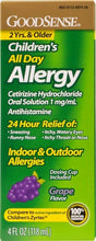 Load image into Gallery viewer, GoodSense® Children's All Day Allergy (Cetirizine 1mg/ml)