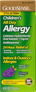 GoodSense® Children's All Day Allergy (Cetirizine 1mg/ml)