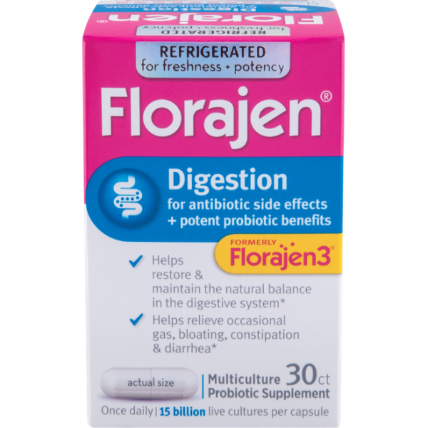 Florajen® Digestion High Potency Probiotics