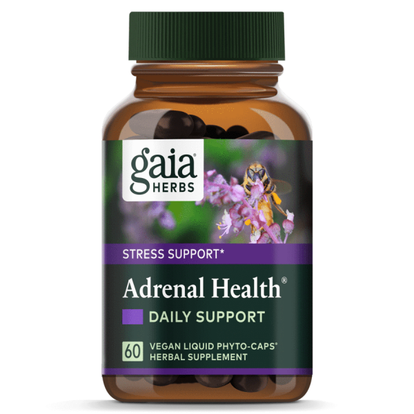Gaia® Herbs Adrenal Health® Daily Support Capsules 60ct.