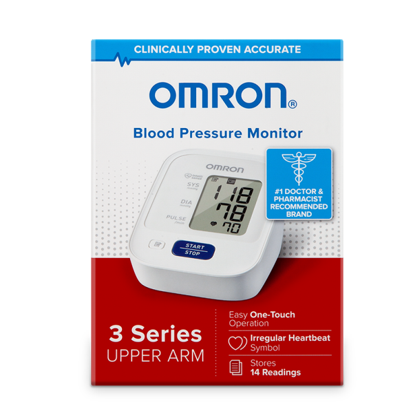 Omron 3 Series® Upper Arm Blood Pressure Monitor