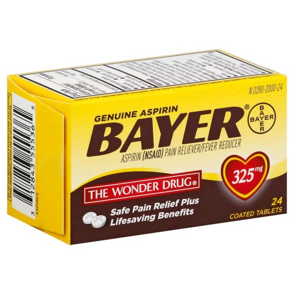 Bayer® Genuine Aspirin 325mg Tablets