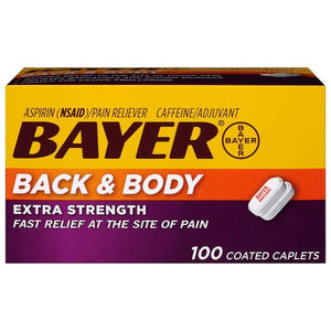 Bayer® Back & Body Extra Strength 500 mg Fast Relief Caplets