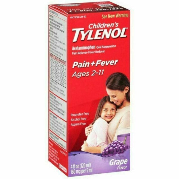 Infants' Tylenol® Pain + Fever Oral Suspension Fluid
