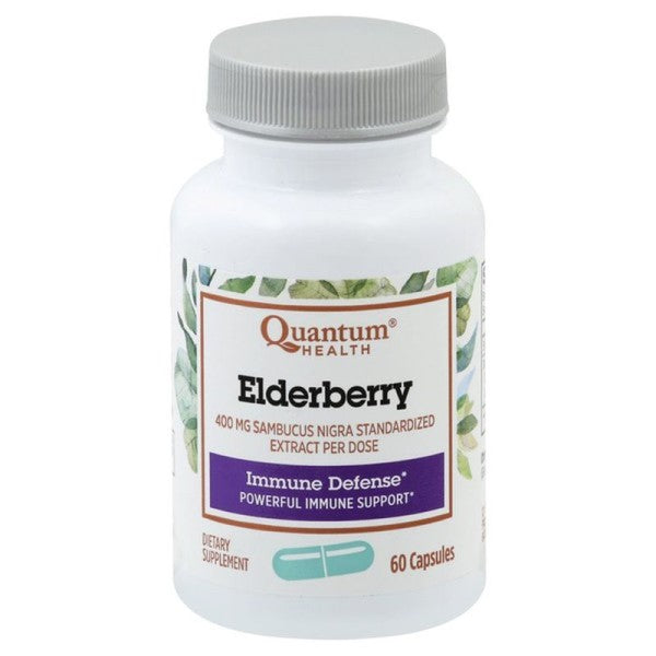 Quantum Health® Elderberry Immune Defense Capsules 60ct.