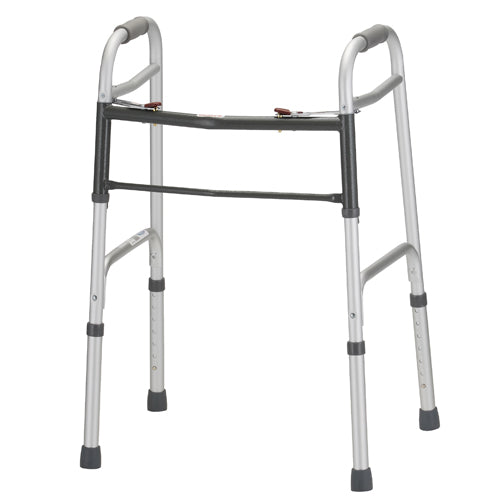 Nova Folding Walker with 5 Inch Wheels
