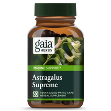 Load image into Gallery viewer, Gaia® Herbs Astragalus Supreme Capsules 60ct.