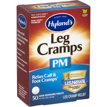 Load image into Gallery viewer, Hyland's® Leg Cramps PM Relief Tablets