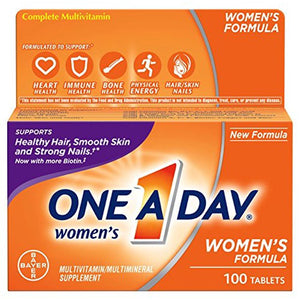 ONE A DAY® Women's Complete Multivitamin Tablets 100ct.