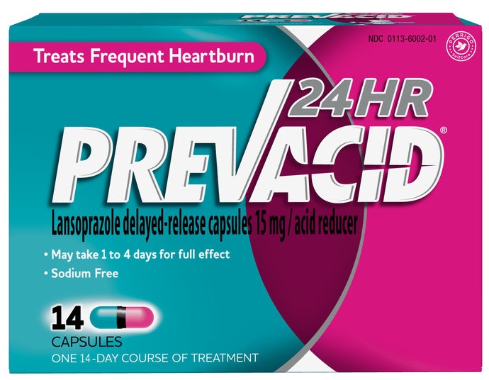 Prevacid® 24HR Delayed Release Capsules 14ct.