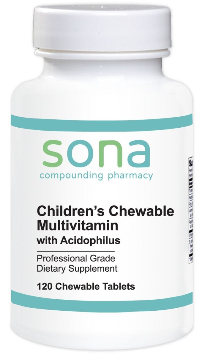 Sona® Children's Multivitamin with Acidophilus Chewable Tablets 120ct.