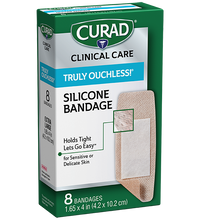 Load image into Gallery viewer, Curad® Truly Ouchless! Silicone Bandage