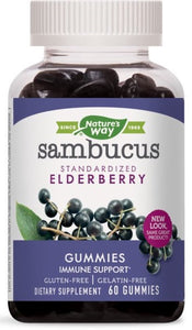 Nature's Way® Sambucus Standardized Elderberry Gummies 60ct.