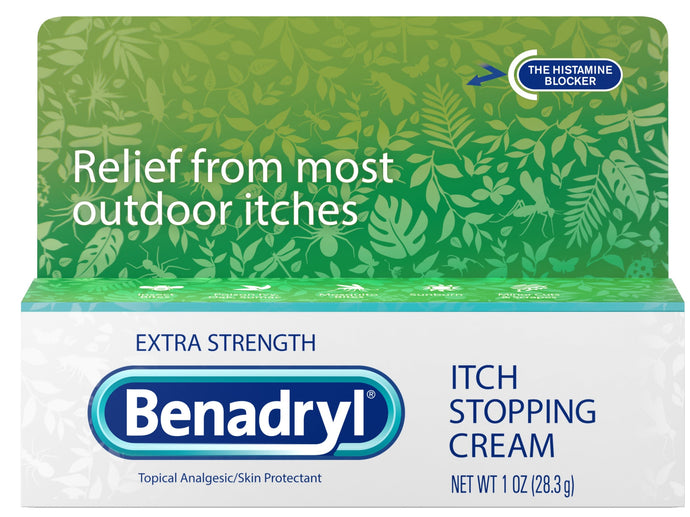 Benadryl® Extra Strength Itch Stopping Cream 1oz.