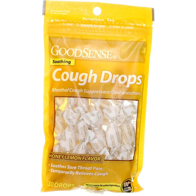 GoodSense® Honey Lemon Cough Drops 30ct