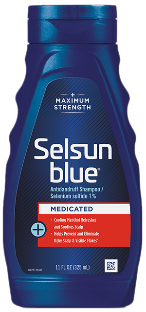 Selsun Blue® Medicated Maximum Strength Dandruff Shampoo 11fl. oz.