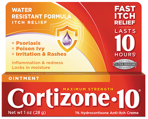 Cortizone 10® Maximum Strength Anti-Itch Ointment 1oz