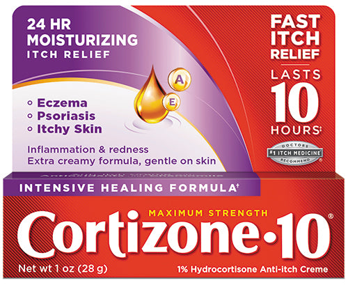 Cortizone 10® Intensive Healing Anti-Itch Cream 1oz