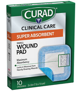 Curad® Super Absorbent Wound Pads