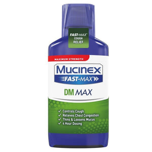 Mucinex® Fast-Max DM Max Cough Suppressant Syrup