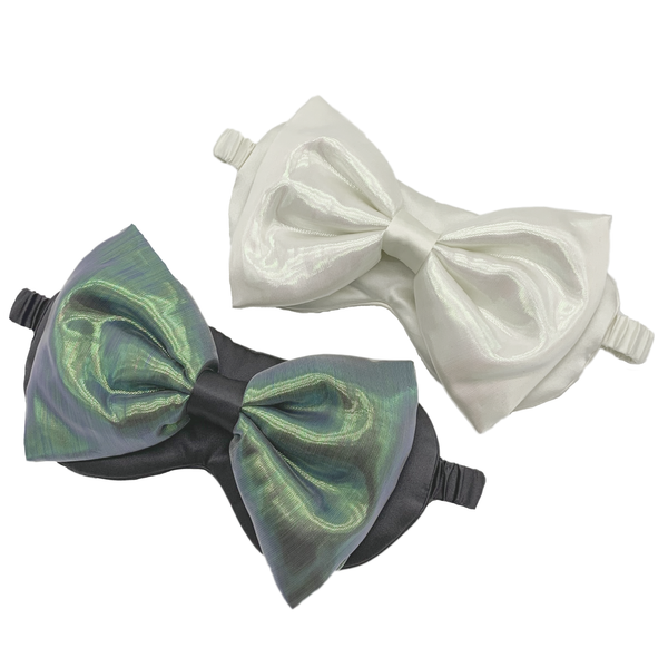 Noble Neon Silk Bow with Eye Mask (WITHOUT Nanotech)