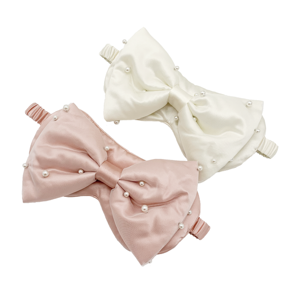 Precious Pearl Silk Bow with Eye Mask (WITHOUT Nanotech)