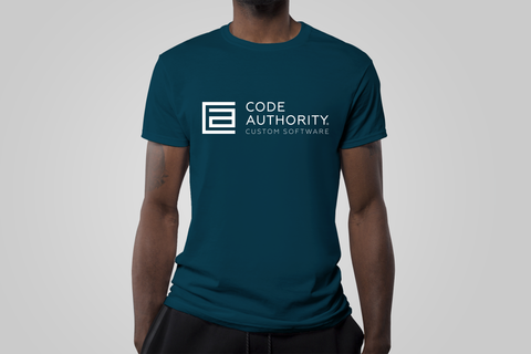 Code Authority T-Shirt - Blue