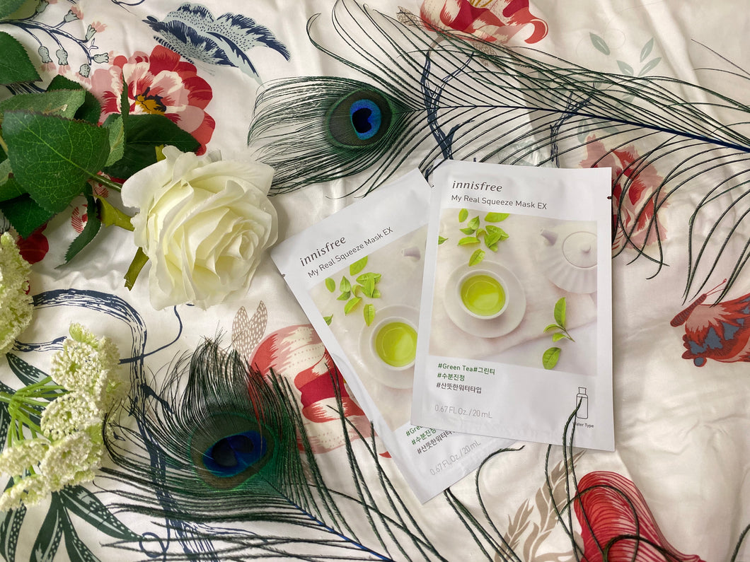 Innisfree My Real Squeeze Mask EX Green Tea