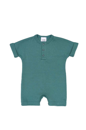 SUMMER Short Sleeved Baby- Body suit in Organic Cotton Fabric