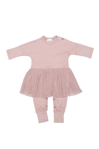 BABY TUTU Sleep Suit in Organic Cotton Fabric