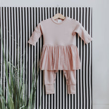 Load image into Gallery viewer, BABY TUTU Sleep Suit in Organic Cotton Fabric