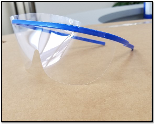 Protective Eyeglass Frame, Box of 25 (Order w/Lenses)