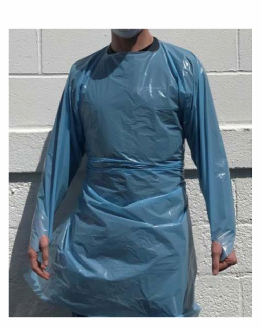 Level II Isolation Gown, Single Use  $3.47 each, Min 10