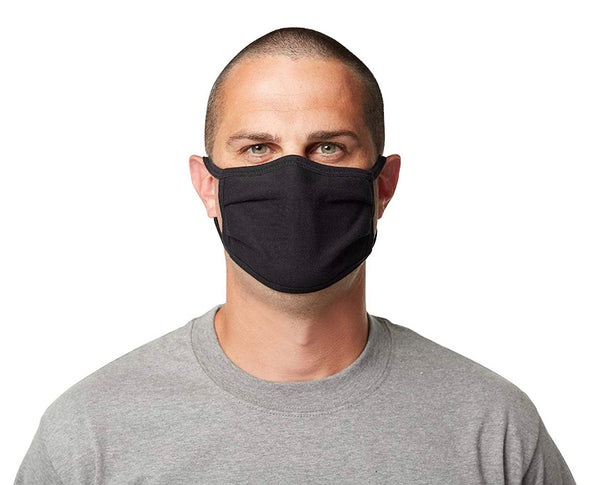 100% Cotton Washable Mask, with Flexible Nose Piece