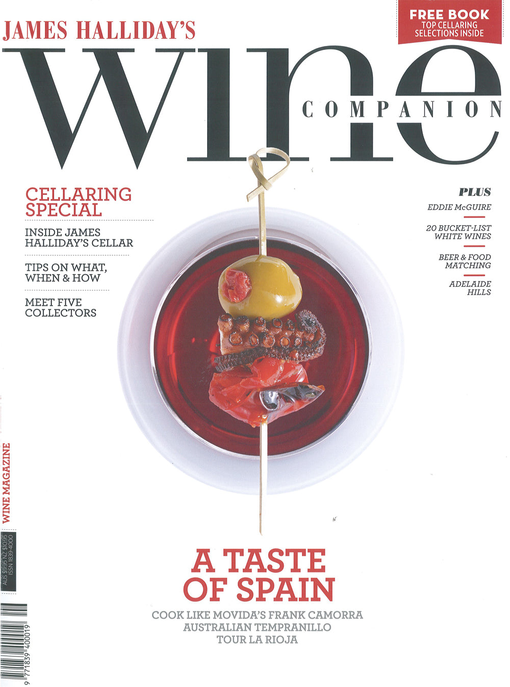 James Halidays Wine Companion June July 2014 cover-STACT Wine Racks