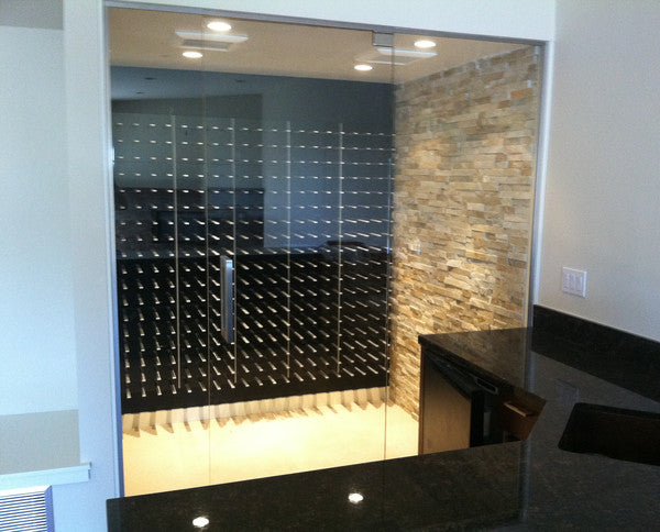 STACT wine cellar in Black