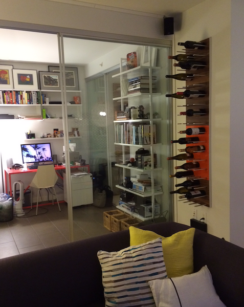 STACT wine cellar apartment living