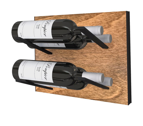 STACT Wine Rack Premier L Type- Black & Tan