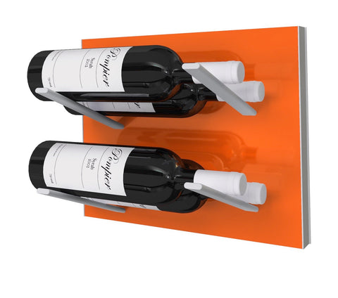 STACT Wine Rack Premier L Type- Electric Orange