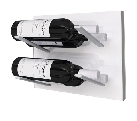 STACT Wine Rack Premier L Type- Pure White