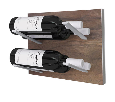 STACT Wine Rack Premier L Type- Walnut