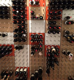 STACT wine racks for custom cellars and large designer spaces