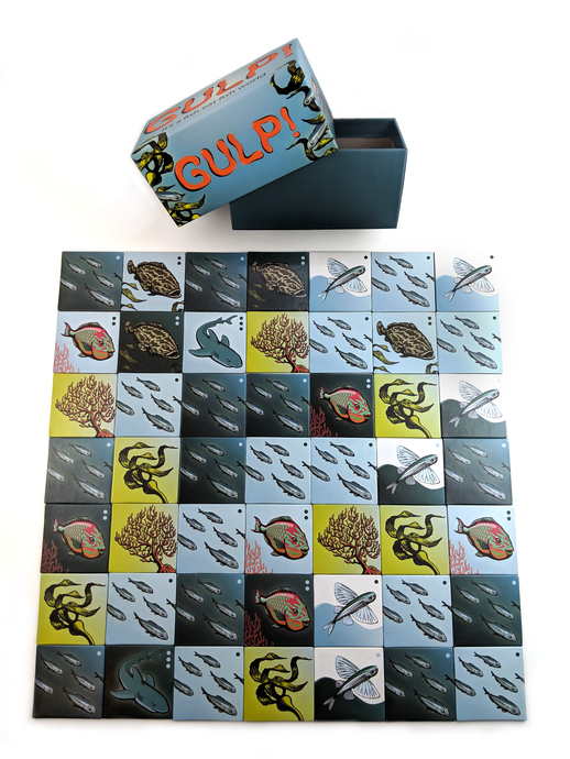 Gulp! - Strategy Game for Two Players