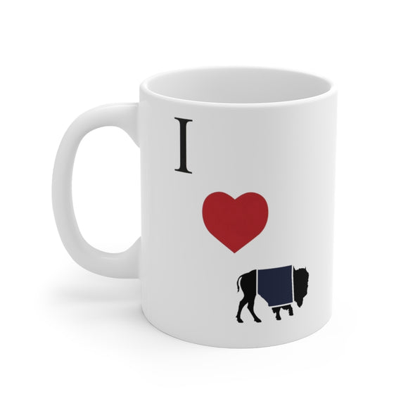 I love Buffalo Coffee Mug