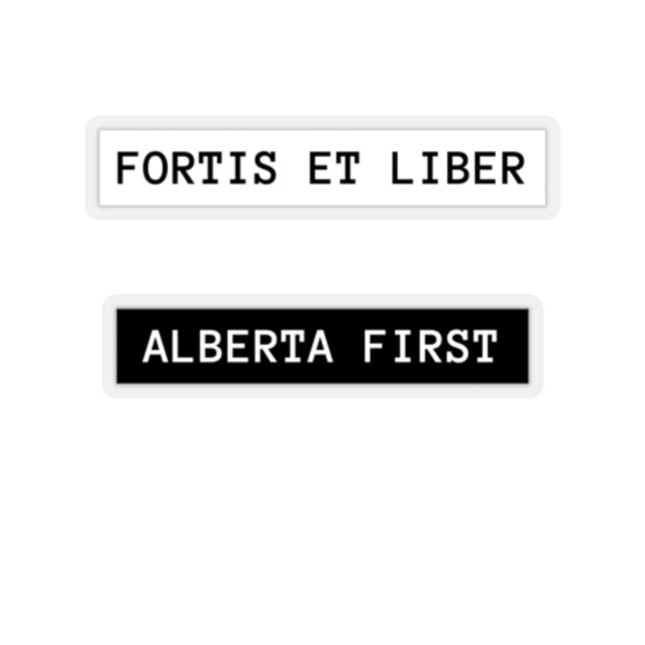 Alberta First Sticker