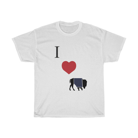 I Heart Buffalo T-Shirt Diagonal