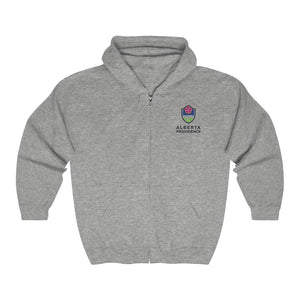 Alberta Providence  Full Zip Hooded Sweatshirt