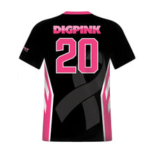 Load image into Gallery viewer, Men's Custom Fuse Dig Pink® Sublimated Volleyball Jersey
