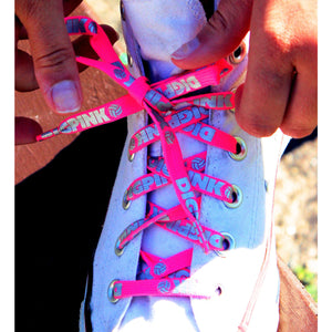 "47"" Dig Pink® Shoe Laces"