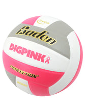 Load image into Gallery viewer, Baden Perfection Dig Pink® Leather Volleyball